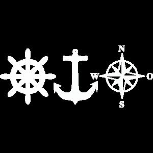 Nautik Wassersport Segeln Motorboot Marine Anker