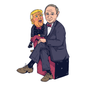 Trump Putin Karikatur