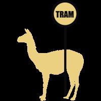 Serge Lama le prend le Straßenbahn
