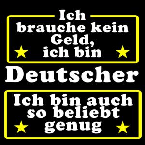 Deutscher Geld beliebt