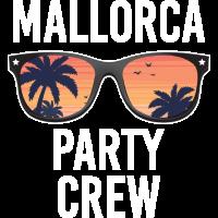 Party Crew Mallorca Saufen Geschenk Urlaub