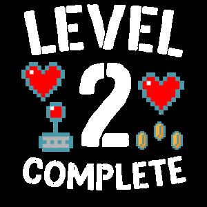 Level 2 Beenden Sie den 2. Hochzeitstag-Videospiel