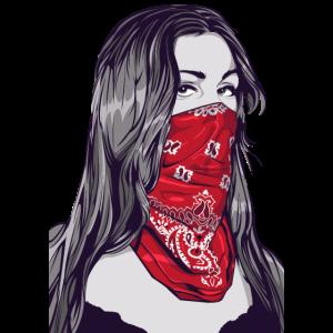 Bandido Pin Up Gangster Girl Rockabilly