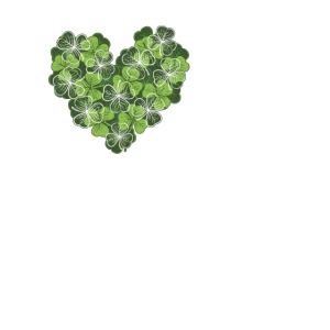 Couples St Patty s Day T Shirt I Love Her Shamrock