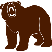 Wildtiere: der Grizzlybär