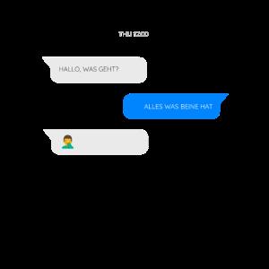 SMS-Chat - Hallo, was geht?