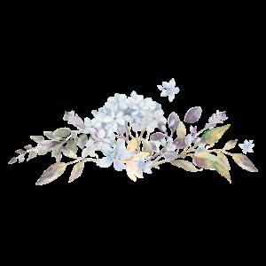 mehrere Blumen in einer Reihe angeordnet