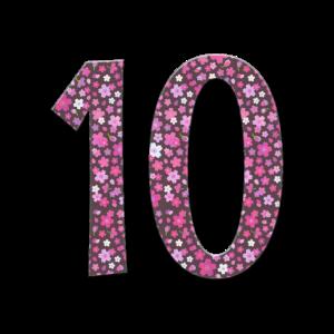 10. Geburtstag 10 Jahre Mädchen Kindergeburtstag