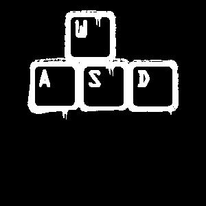 Nerd WASD Tastatur Gamer
