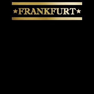 Gold Frankfurt Geschenk Party