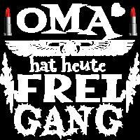 OMA hat Heute Frei Gang Geschenkidee
