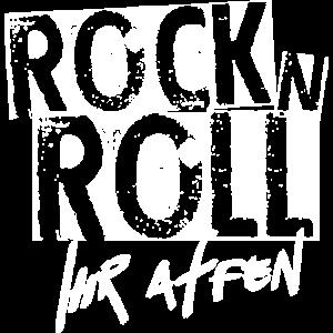 rock 'n' roll | affen lustiger spruch party freak