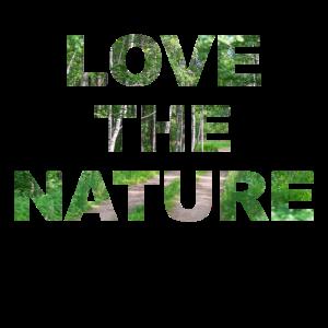 Liebe die Natur Waldweg Wanderlust T Shirt Geschen