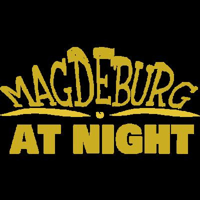 Magdeburg - Stadt Magdeburg bei Nacht - Stadt,Nacht,Magdeburg