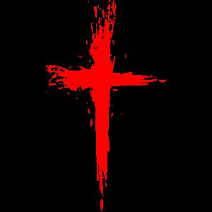 Kreuz Christentum Religion Jesus Christus Rot