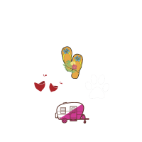 I m A Simple Woman Camping T Shirt Wine Flip Flops