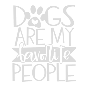 dogs are my favorite people Geschenk Hund Hunde Hu
