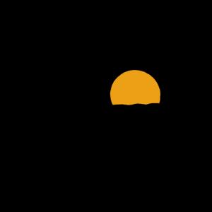 Kreis Schiff Sonne Meer Sommer Segeln