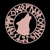 Wikinger Nordische Mythologie Futhark Fenris Wolf