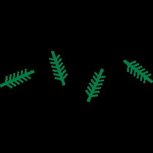 X-MAS Weihnachtsbäume Muster