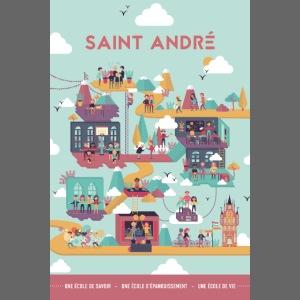 Poster Vie À Saint André 104