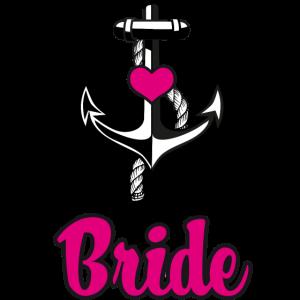 187 Team Bride Braut Anker Seil