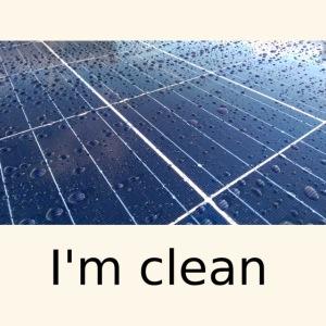 I'm clean
