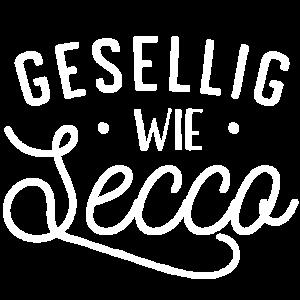 Gesellig wie ein Secco - JGA Shirt