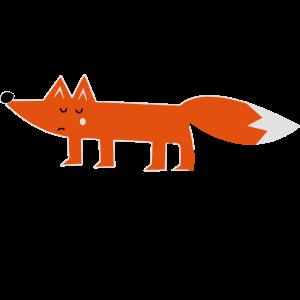 schlauer fuchs cunning fox comic lustige sprüche