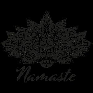 Spiritual Yoga Meditation Lotus Namaste Design