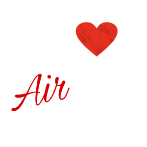 I love Airbrush shirt