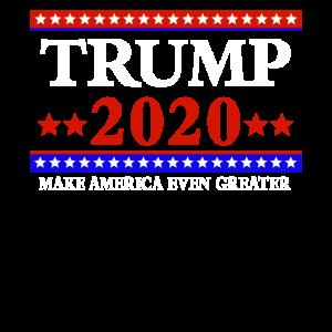 Trump 2020 Präsidentenwahl Präsident USA