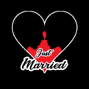 frisch verheiratet, Hochzeit, Flitterwochen, Ehe,