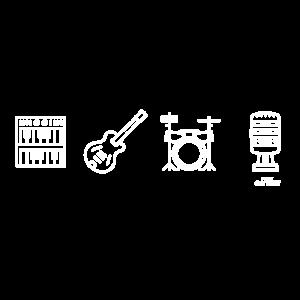 Instrumente (weiß)