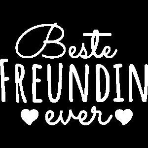 Beste Freundin Ever Freundinnen Sprüche Geschenk