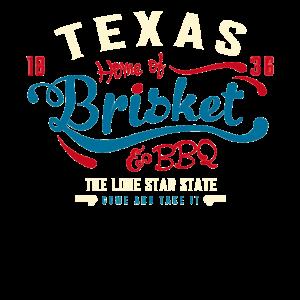 Kommen Sie und nehmen Sie es drucken Texas Flag Molon Labe BBQ