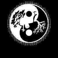 Yin Yang Tree Of Life T Shirt