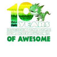 T rex Dinosaur 10th Birthday Shirt for Awesome