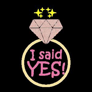 Hochzeit, Verlobung, Ja ich will, Geschenk, Ehe