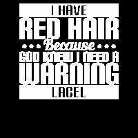 I Have Red Hair Because God Knew VINTAGE SUNSET