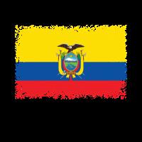 Ecuador Flagge Fahne Wappen