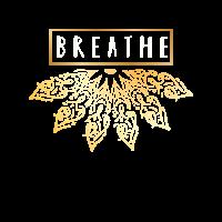 Kühles Meditation atmen Yoga-Geschenk