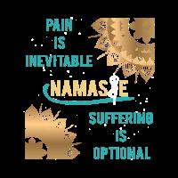 Cooles Namaste Meditationsgeschenk