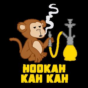 Shisha Hookah Wasserpfeife Affe