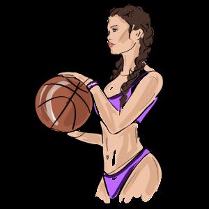 Sexy Basketball Girl