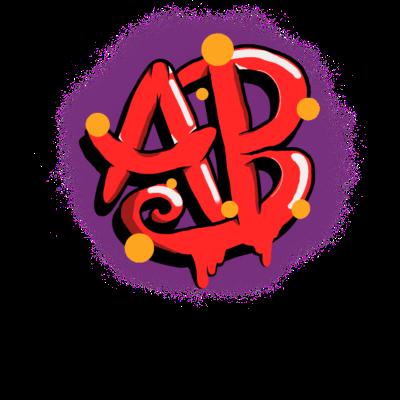 AB - Aschaffenburg - AB - Aschaffenburg Kennzeichen im Graffiti Stil. - stadt Aschaffenburg,schloss,nummernschild,main,künstlerisch,kennzeichen,geschenkidee,geschenk,fluss,aschaffenburger schloss,aschaffenburg,Stadt,Graffiti,Altstadt,AB,63768,63741