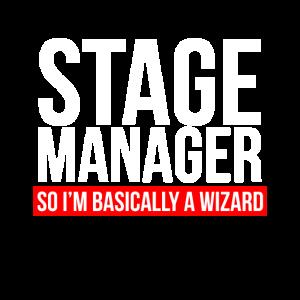 Stage Manager Im Grunde bin ich ein Zauberer
