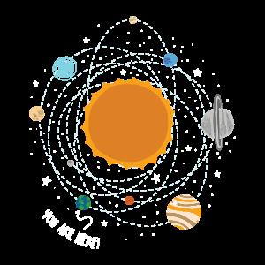 Sonnensystem Planeten Wissenschaft - Sie sind hier Tee