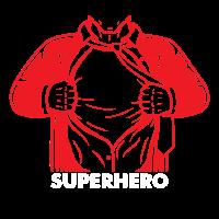 Superheld Superhero Kraftprotz