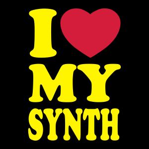 I love my synth - Ich liebe meinen Synth
